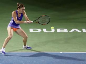 Simona Halep s-a calificat in sferturi la Dubai