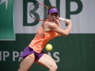 Simona Halep s-a calificat in sferturi la Roland Garros