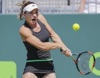 Simona Halep s-a calificat in sferturile de finala de la Miami dupa o revenire fantastica
