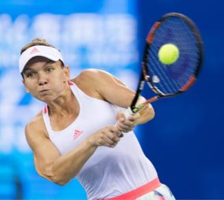 Simona Halep s-a calificat in sferturile de finala de la Wuhan