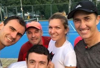 Simona Halep s-a despartit de unul dintre antrenorii ei: Mi-a spus ca nu are nevoie de mine