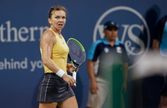 Simona Halep s-a duelat cu Maria Sharapova si Madison Keys inainte de US Open