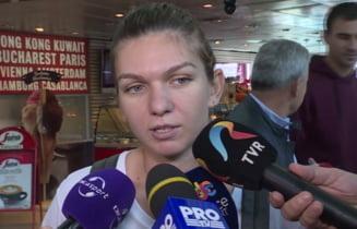 Simona Halep s-a intors de la Turneul Campioanelor - cum i-a raspuns lui Tiriac