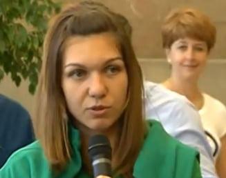 Simona Halep s-a intors in Romania: ce spune despre arbitraj si cum ii raspunde lui Tiriac