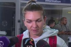 Simona Halep s-a intors in tara dupa eliminarea de la Roma - Iata ce a declarat la aeroport