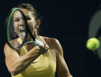 Simona Halep se apropie de primul loc in clasamentul pentru Turneul Campioanelor