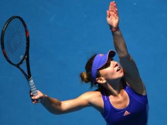 Simona Halep se califica dramatic in semifinale la Dubai