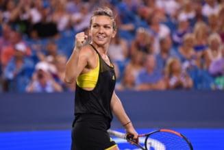 Simona Halep se califica in finala de la Cincinnati dupa o evolutie impecabila