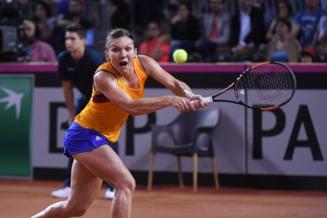Simona Halep se califica in finala de la Montreal dupa o victorie entuziasmanta cu Angelique Kerber
