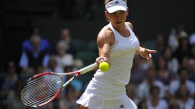 Simona Halep se califica in optimi la Wimbledon in stil de mare campioana