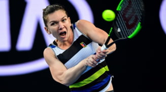 Simona Halep se califica in optimi la Wuhan dupa o victorie categorica