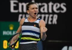 Simona Halep se califica in optimile de la Australian Open dupa ce ii da o lectie de tenis lui Venus Williams