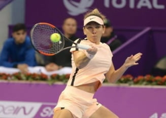 Simona Halep se califica in semifinale la Doha si continua lupta pentru locul 1 WTA