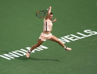 Simona Halep se califica in semifinale la Indian Wells dupa un meci fantastic