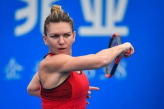 Simona Halep se califica in semifinale la Shenzhen si se va duela cu Irina Begu