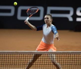 Simona Halep se califica in semifinale la Stuttgart