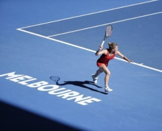 Simona Halep se califica in sferturi la Australian Open cu o victorie categorica