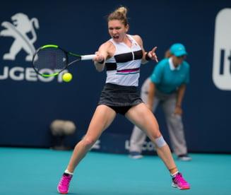 Simona Halep se califica in sferturi la Miami dupa o victorie splendida cu Venus Williams