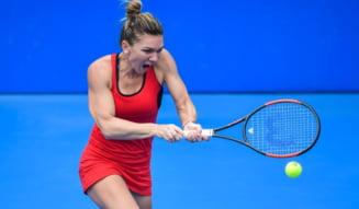Simona Halep se califica in sferturi la Shenzhen si isi asigura prezenta pe primul loc WTA