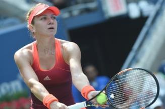 Simona Halep se califica in sferturi la US Open dupa o revenire fabuloasa