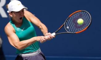 Simona Halep se califica in sferturile de finala de la Cincinnati