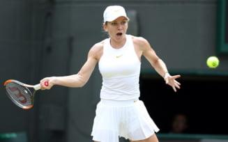 Simona Halep se califica in sferturile de finala de la Wimbledon