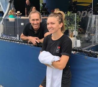 Simona Halep se califica in turul II la US Open dupa un meci de mare lupta