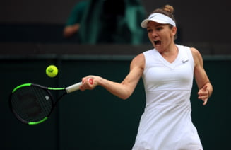 Simona Halep se califica magnific in finala de la Wimbledon