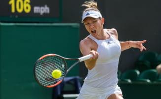 Simona Halep se califica minunat in sferturile de finala de la Wimbledon