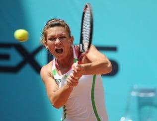 Simona Halep se califica spectaculos in turul trei la Roma