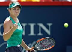 Simona Halep se califica superb in semifinale la Rogers Cup