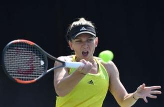 Simona Halep se califica usor in optimi la Beijing, acolo unde va da peste Maria Sharapova