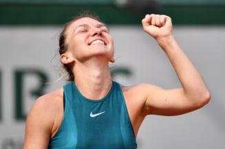 Simona Halep se distanteaza in fruntea clasamentului WTA: Caroline Wozniacki, eliminata de la Rogers Cup