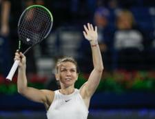 "Simona Halep se inclina in fata antrenorului sau Apostu-Efremov, dupa triumful de la Dubai: ""M-a ajutat si m-a sustinut enorm"""