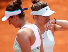 "Simona Halep si Irina Begu, prietenie cu ""scantei"". Cele doua romance, fata in fata la Roland-Garros"