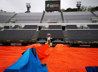 Simona Halep si Mihaela Buzarnescu nu mai joaca astazi la Roma: Meciurile au fost amanate