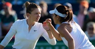 Simona Halep si Raluca Olaru, eliminate dramatic in semifinale la Eastbourne