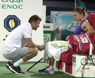 Simona Halep si-a dat afara antrenorul pe modelul Gigi Becali: Explicatia oficiala