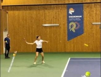 Simona Halep si-a reluat pregatirile: Ce antrenor a fost prezent la sedinta de astazi