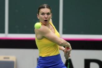 Simona Halep si momentul decisiv al meciului cu Pliskova: Ce a facut tenismena noastra la vestiar inaintea ultimului set