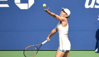 Simona Halep va fi amendata de organizatorii de la US Open