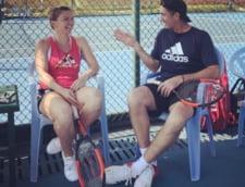 Simona Halep va participa la un turneu inedit. Darren Cahill va juca si el!