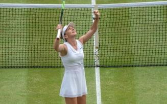 Simona Halep va recurge la un gest neasteptat dupa finala de la Wimbledon: Pierd sau castig, ma arunc in Tamisa