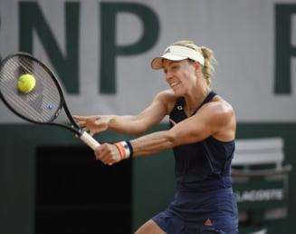 Simona Halep vs Angelique Kerber in sferturi la Roland Garros: S-au mai intalnit de 9 ori pana acum