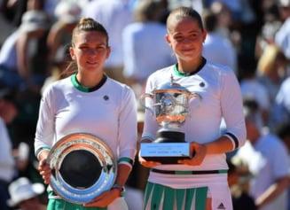 Simona Halep vs Jelena Ostapenko: Vezi cine e favorita la pariuri