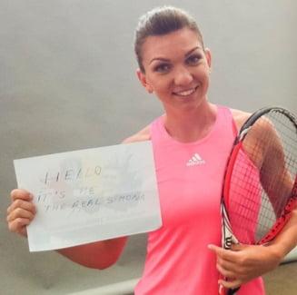 Simona Halep vs Klaus Iohannis: Cand va avea loc meciul anului in tenis