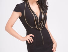 Simona Patruleasa rochie neagra