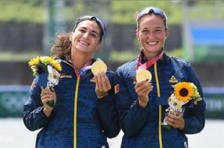 """Simona Radiș, medaliată cu aur la JO 2020: """"Încă nu realizez ce s-a întâmplat"""". Cum s-au încurajat româncele înainte de cursă"""