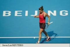 Simonei Halep ii poarta noroc cifra 6! Dupa ce a facut-o praf pe Sharapova cu dublu 6-2 in optimi, azi, 6 o trimite in semifinale de la Beijing