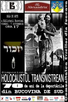 """Simpozion International """"Holocaustul Transnistrean - 70 de ani de la deportarile din Bucovina de Sud"""" la Biblioteca Bucovinei"""